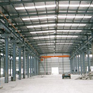 钢结构工程(中立柱型内景)/钢结构工程公司