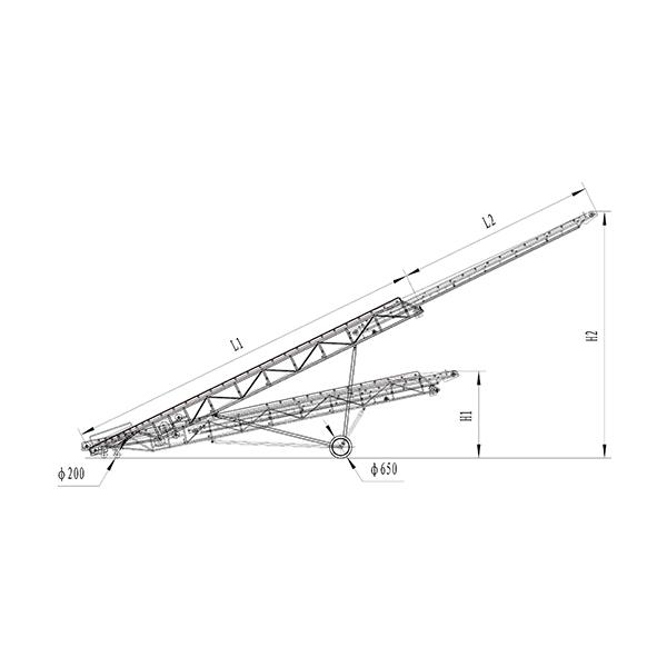 SSDY伸缩升降式皮带机/伸缩皮带机厂/皮带线/喷涂线/包装器材厂/皮带机/皮筏输送机/江门升降机