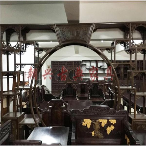 月门洞/新会红木家具厂/红木古典家具厂/古典红木家具