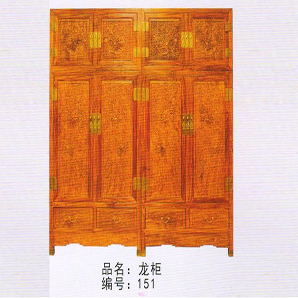 龙柜/红木古典家具厂/新会红木家具/古典红木家具