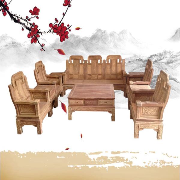 象头大如意10件套/古典红木家具厂家