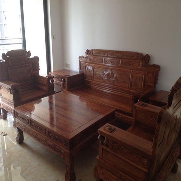 财源滚滚沙发6件套/古典红木家具厂家