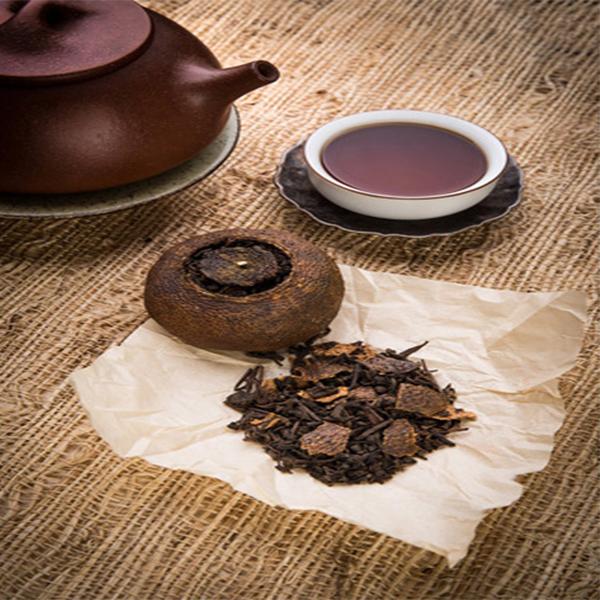 柑普茶/柑普茶批发/柑普茶品牌/陈皮普洱茶厂家