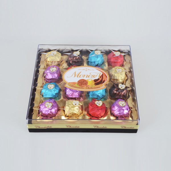 16粒方型巧克力生产