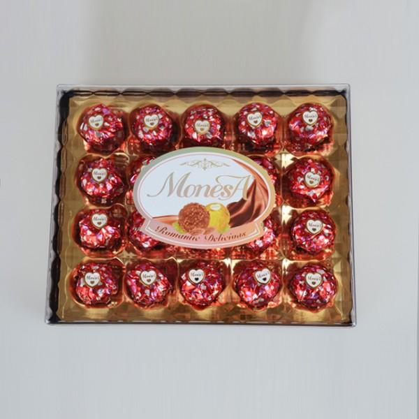 20粒方型巧克力