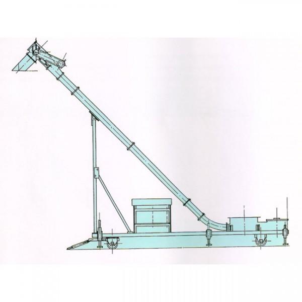 MCA系列倾斜式输送机/螺旋机/船上输送设备