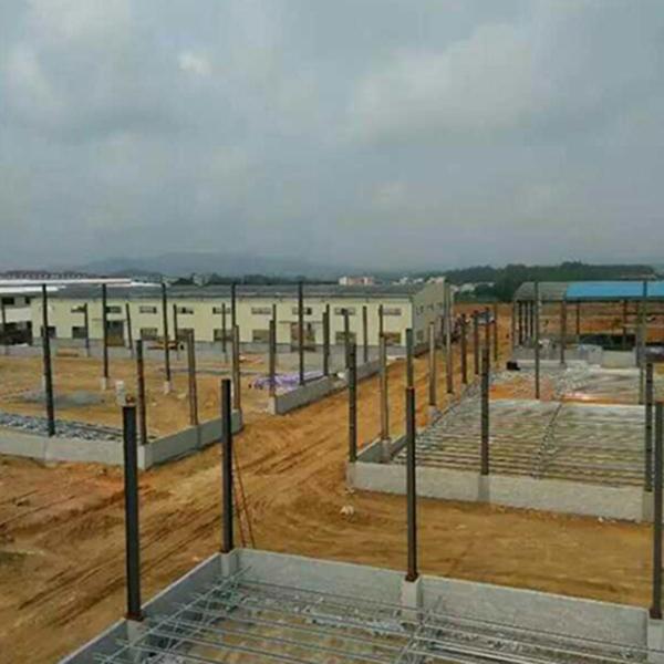 瓦面案例/厂房钢结构安装工程/钢结构工程/钢结构螺丝/江门活动板房厂/仿真木
