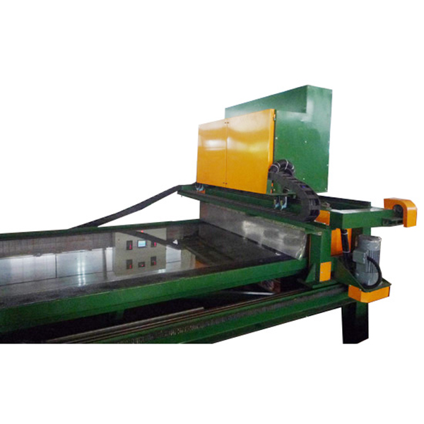 不锈钢四头自动研磨机/不锈钢板材表面处理设备/乱纹机厂家/8K机厂家/钻桩机厂家