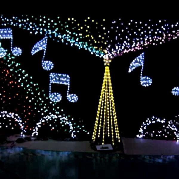 可定制led圣诞灯串_装饰彩灯七彩灯串_装饰彩灯圣诞灯串