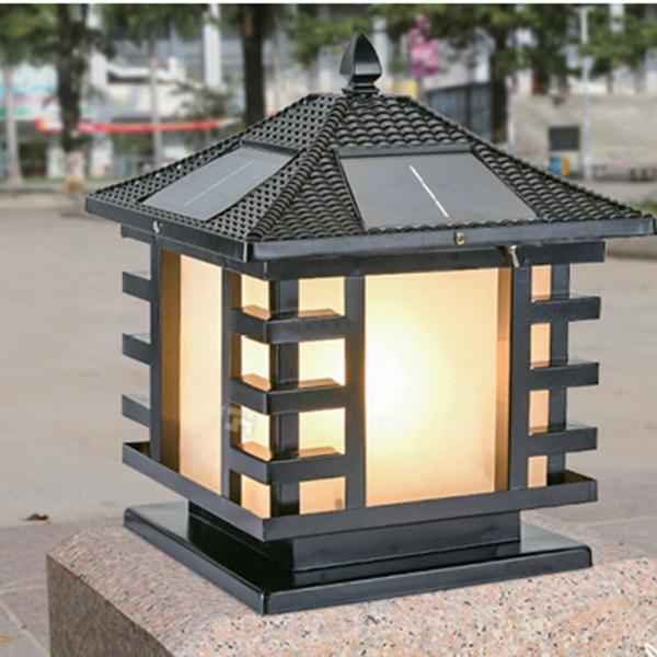 太阳能柱头灯,LED柱头灯,压铸柱头灯,欧式灯柱