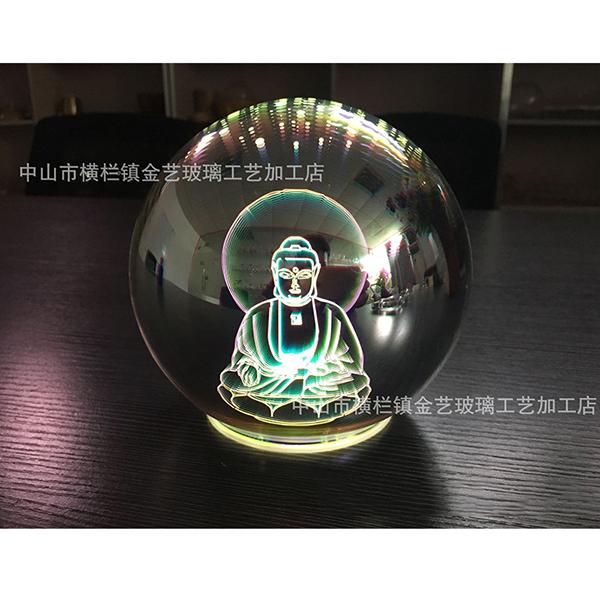 佛像用灯饰_佛教工艺品_3D香薰玻璃罩_