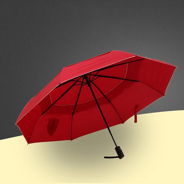 全自动双层雨伞_27寸折叠雨伞_太阳广告伞