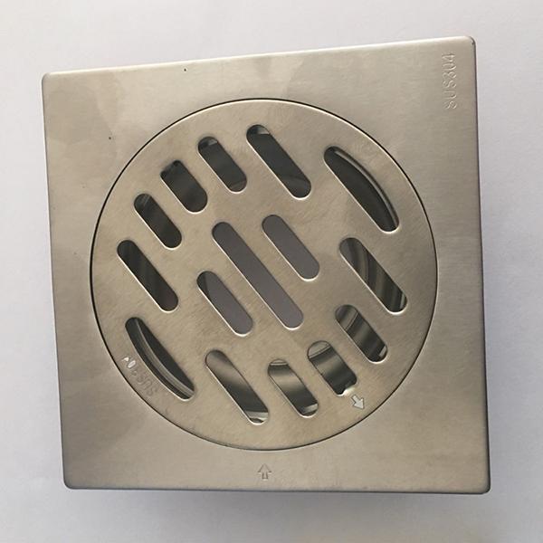 洗衣机两用防臭地漏_优质304加厚不锈钢地漏