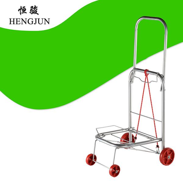 手拉行李车买菜车,可折叠拉货车, 老人爬楼便携手拉车购物拖车