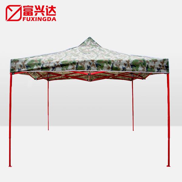 迷彩定制广告帐篷,户外活动展览摆摊,印字天幕四角遮阳帐篷