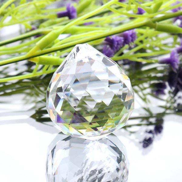 透明水晶球家居创意挂饰品水晶灯饰