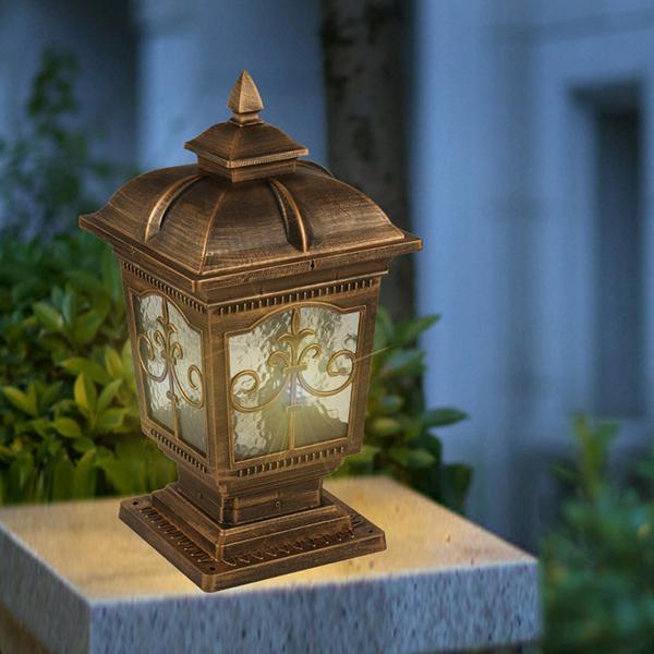 欧式景观庭院灯公园别墅柱头,欧式庭院灯