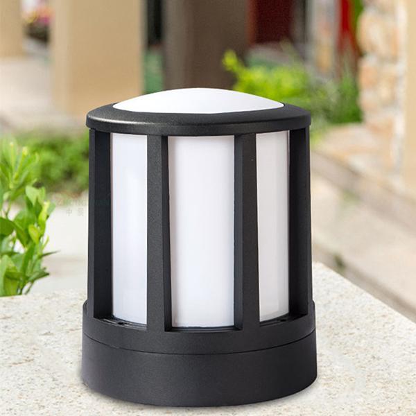 柱头灯围墙灯,现代简约庭院草坪灯,led壁灯