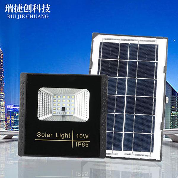 太阳能灯户外100w室内家用高亮投光灯,户外壁灯