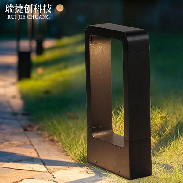 led草坪灯现代简约庭院灯景观花园公园灯,户外壁灯