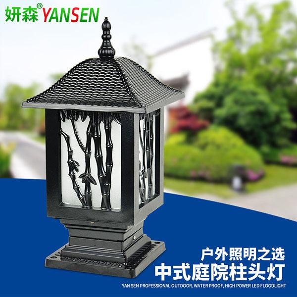 中式柱头灯墙头灯,壁灯