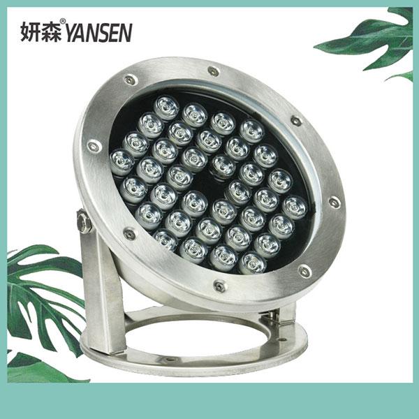 led水底灯不锈钢低压七彩灯 户外壁灯