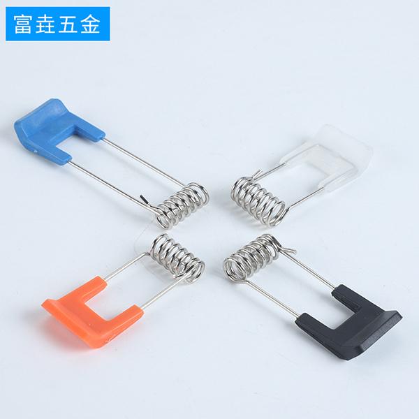 灯饰弹簧LED灯平面弹簧PVC包胶弹簧包铁皮弹簧