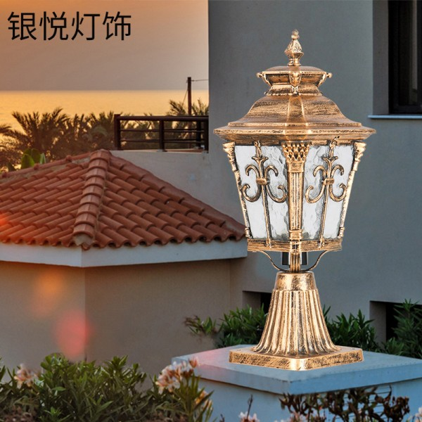 户外防水柱头灯庭院门头灯,柱头灯