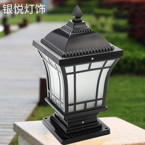 LED柱头灯室外庭院围墙灯,柱头灯