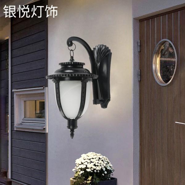 跨境专供欧式复古led壁灯,户外壁灯