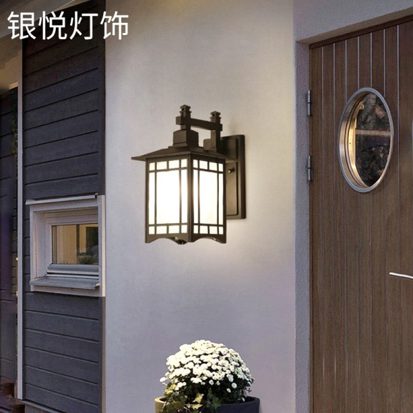 户外壁灯室外防水,欧式复古别墅露台阳台壁灯