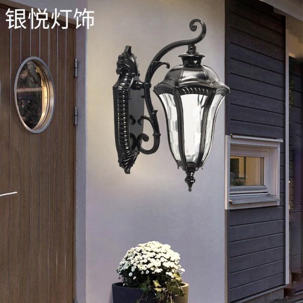 简约壁灯户外防水美人鱼壁灯,户外壁灯
