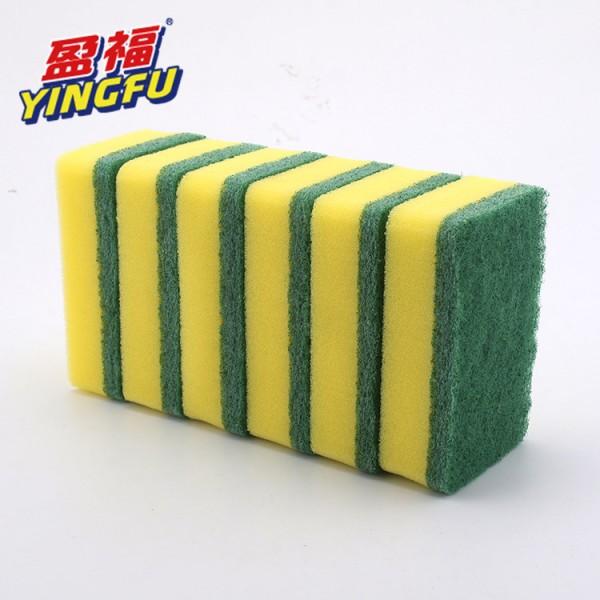 海棉百洁布 含砂超耐用海绵百洁布 ,江门百洁布