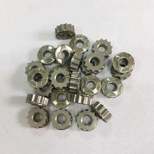 铁基结构零件 精加工螺母 圆螺母,不锈钢粉末冶金