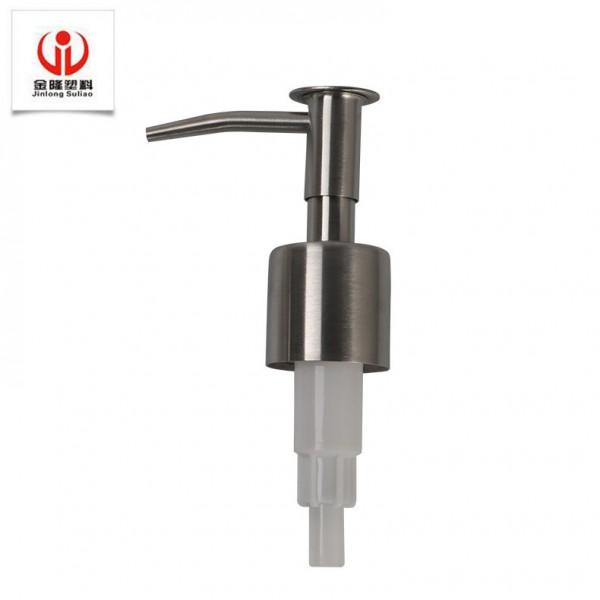 陶瓷液瓶玻璃液瓶喷头304不锈钢24牙按压喷头