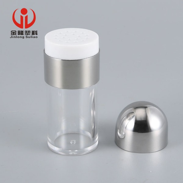 304不锈钢透明调味粉瓶