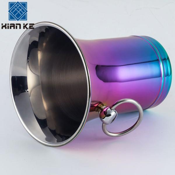 不锈钢喇叭冰桶 不锈钢香槟桶,不锈钢调酒器