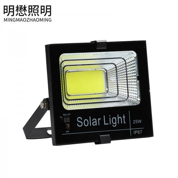 高亮COB太阳能投光灯户外高亮投光灯庭院灯