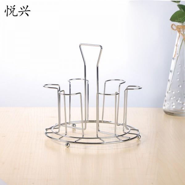 创意杯架水杯挂架家用置物架茶杯玻璃杯架