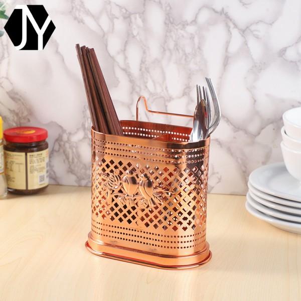 铁艺置物架筷子筒筷笼 家用筷子沥水筒
