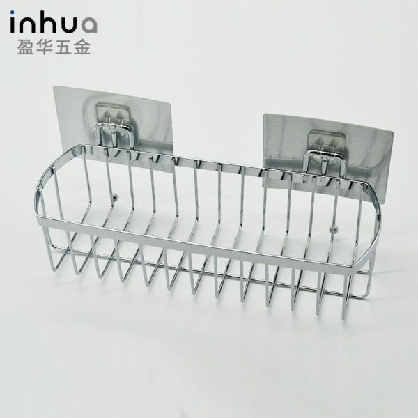 浴室置物架不锈钢单层置物架