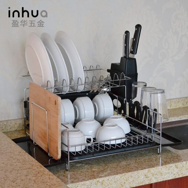 不锈钢碗碟架置物架厨房用品沥水架