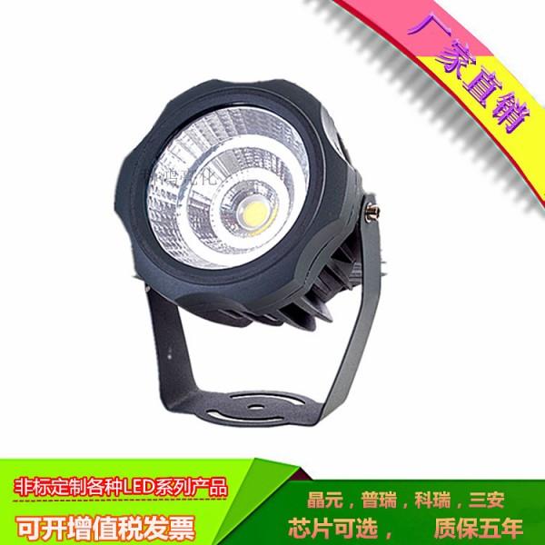 LED草坪灯COB投光灯照树投射灯户外投光灯