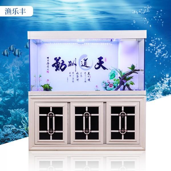 大型落地水族箱鱼缸玻璃