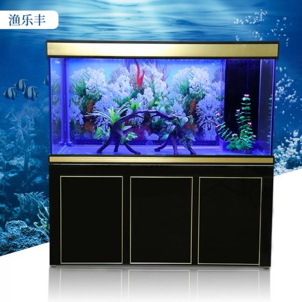 大型生态玻璃观赏鱼缸长方形水族箱