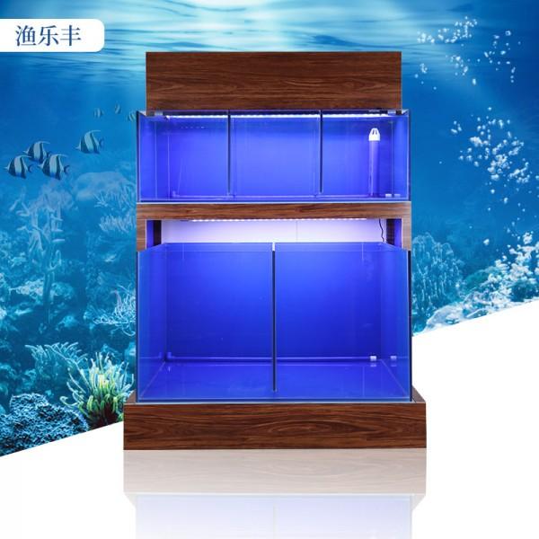 玻璃缸海水缸养鱼池大排档鱼缸饭店酒楼餐馆
