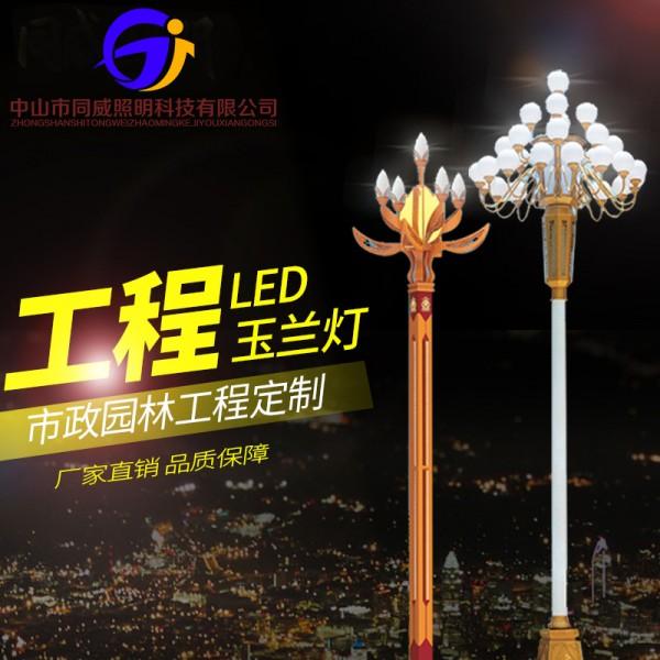户外LED中华玉兰灯广场景观灯