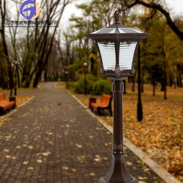 LED防水户外庭院灯户外LED铝制庭院灯