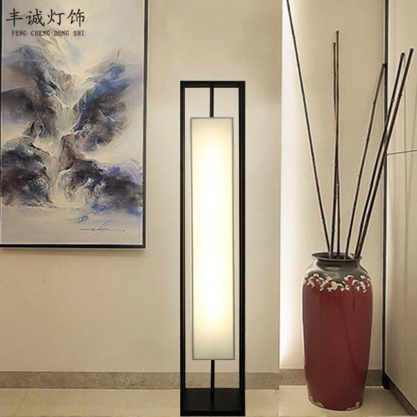 铁艺酒店工程茶楼立式台灯