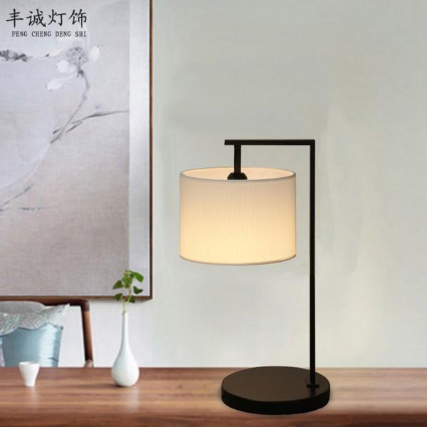 中式台灯卧室床头灯具书房写字台灯